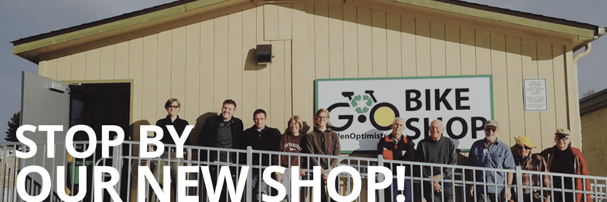 Golden Optimists New Shop Location