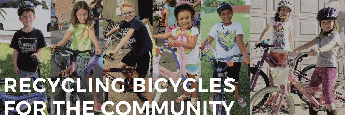Recycling Bicycles For The Community